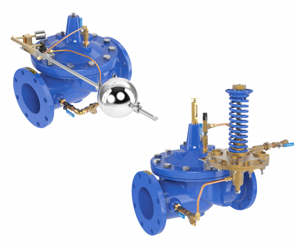 Altitude and Level Control Valves for Waterworks & Wastewater Applications
