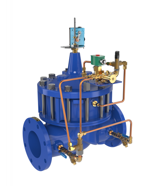 Pump Control Valves for Waterworks & Wastewater Applications