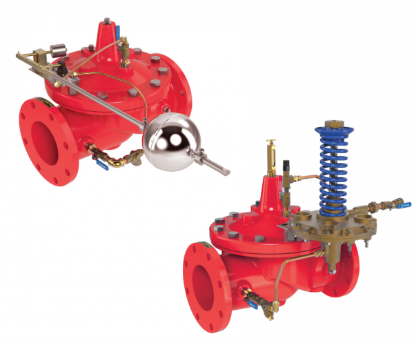 Altitude & Level Control Valves for Onshore & Offshore Fire Protection