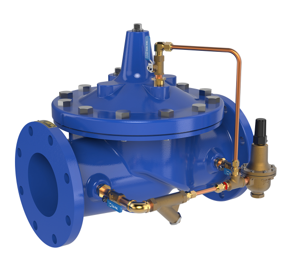 Pressure Reducing Valves for Waterworks & Wastewater Applications