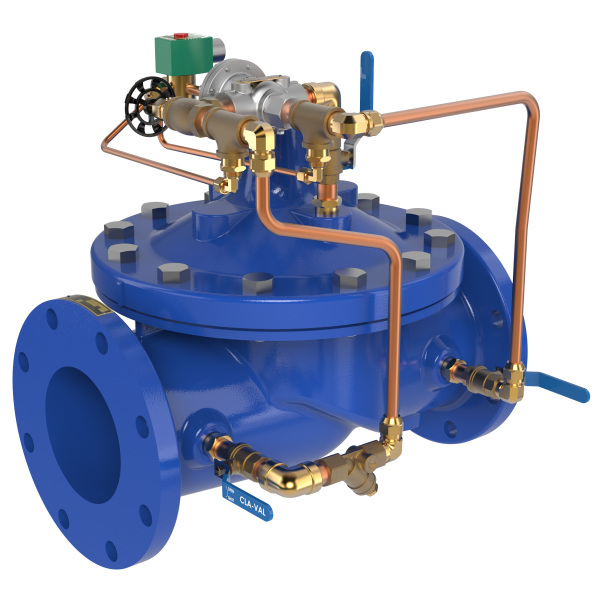 Solenoid Control Valves for Waterworks & Wastewater Applications