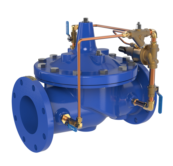 Pressure Relief & Surge Cntl Valves for Waterworks & Wastewater Applications