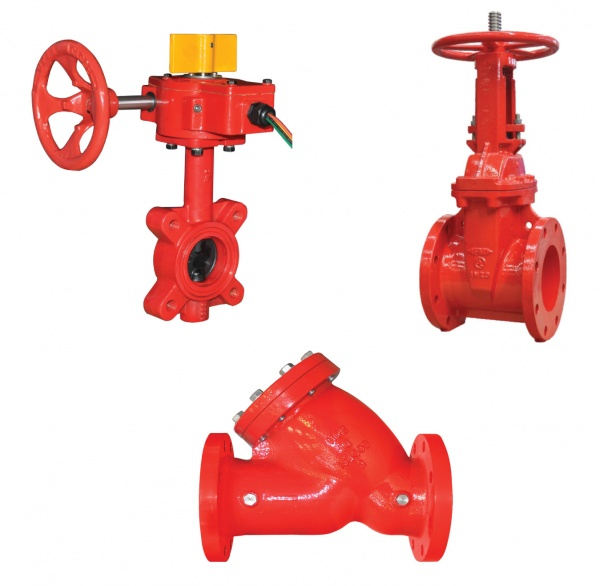 Butterfly Valves, Gate Valves & Strainers for Commercial Bldg Services