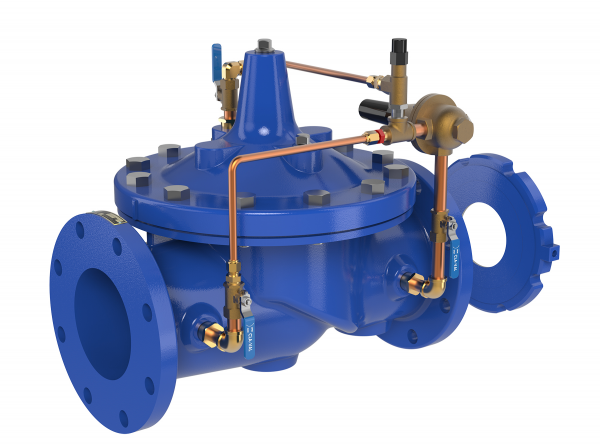 Flow Control Valves for Waterworks & Wastewater Applications
