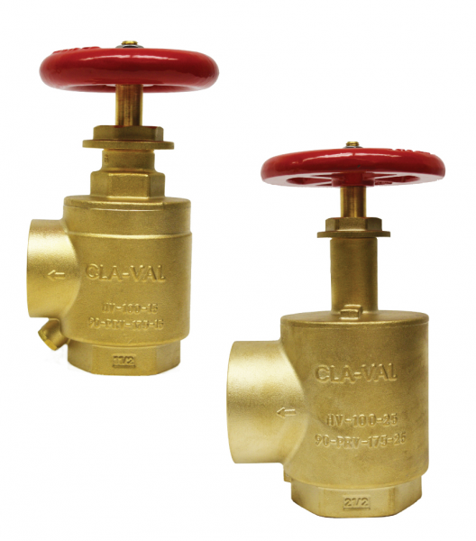 Hose Valves & Pressure Reducing Valves for Commercial Fire Protection