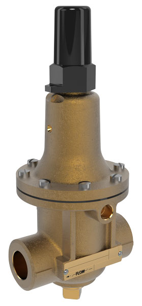 Pressure Relief Valve with Anti-Cavitation Trim