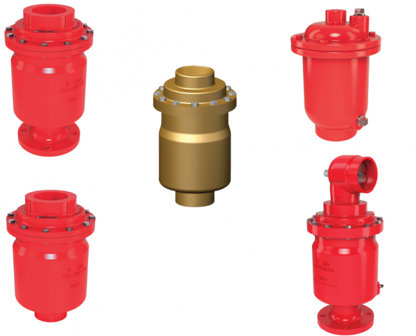 Air Release Valves for Onshore & Offshore Fire Protection Applications