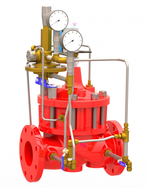 Automatic Breach Control Valves