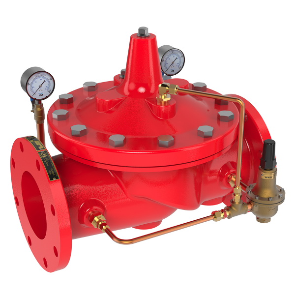 Pressure Reducing Valves for Onshore & Offshore Fire Protection